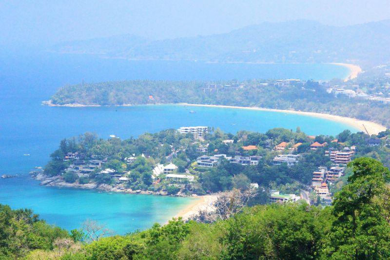 3つの絶景ビーチを眺望!プーケットで一番美しい丘「カロン・ビュー・ポイント」