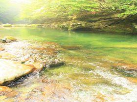 癒しのパワースポット!奈良・天川村「みたらい渓谷」川遊び&ハイキングの楽しみ方|奈良県|トラベルjp<たびねす>
