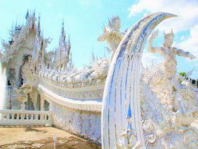 地獄の微笑み!?タイの純白寺院「ワット・ロンクン」の叫び