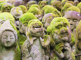 人生に微笑を!京都「愛宕念仏寺」で霊界ワールドを楽しもう|京都府|トラベルjp<たびねす>