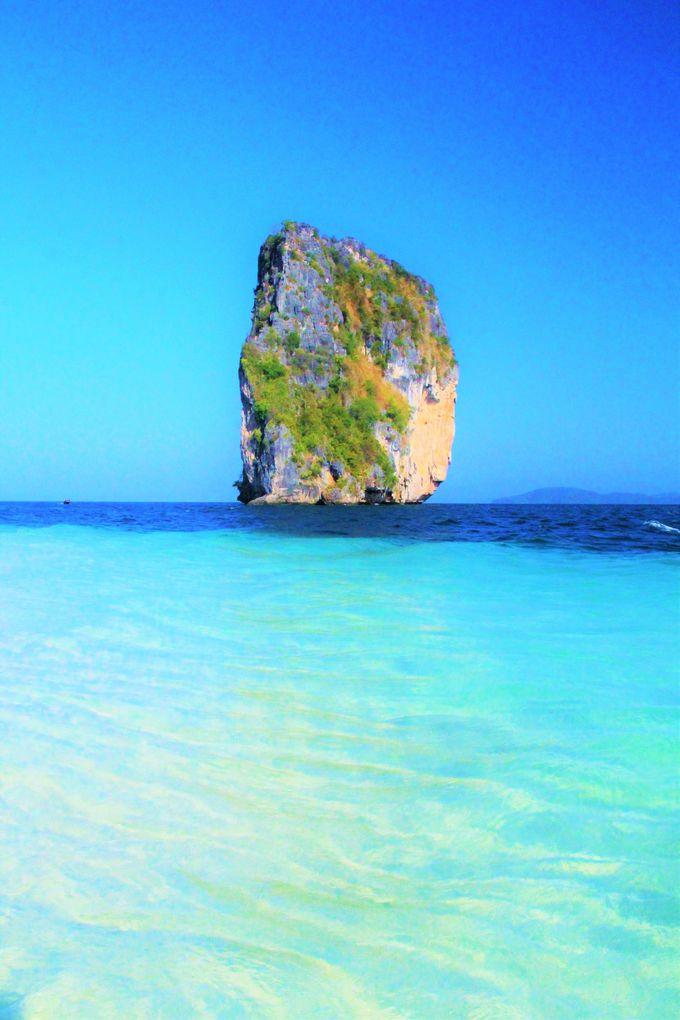 クラビ「ポダ島」も絶景のビーチが楽しめる!