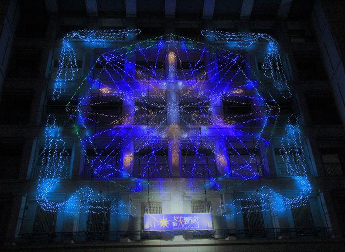大阪の街が光の渦に!大阪イルミネーション「光の饗宴」