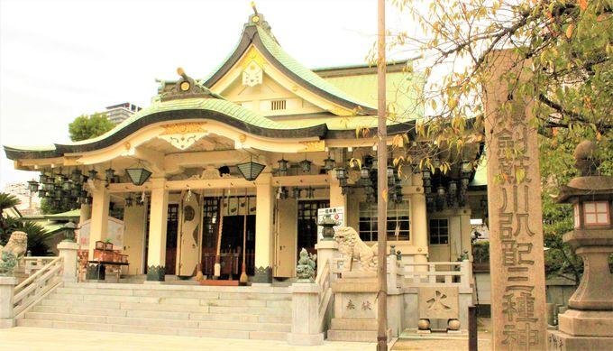 謎の多い難波八阪神社!難波祇園祭や綱引神事、篠山神社も