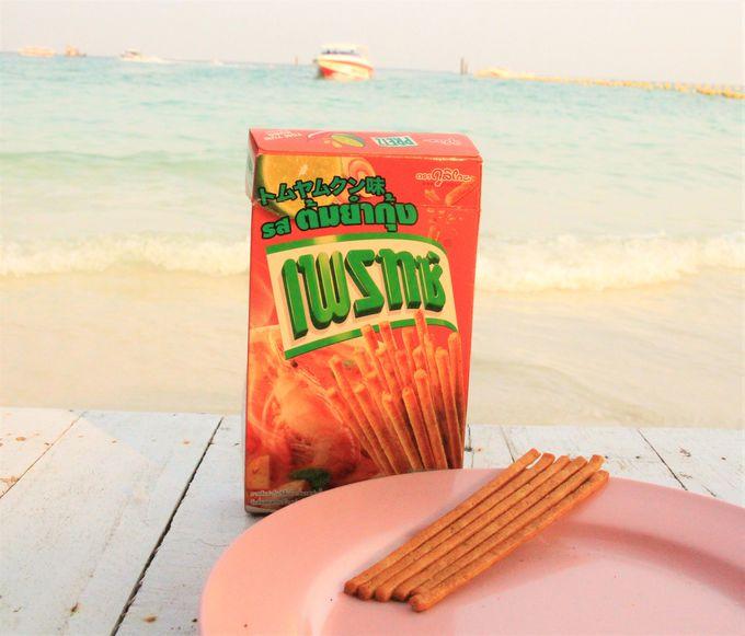 タイのばらまき土産におすすめ!菓子・スナック類ポッキー&プリッツ、ドライフルーツ、タイ料理のペースト