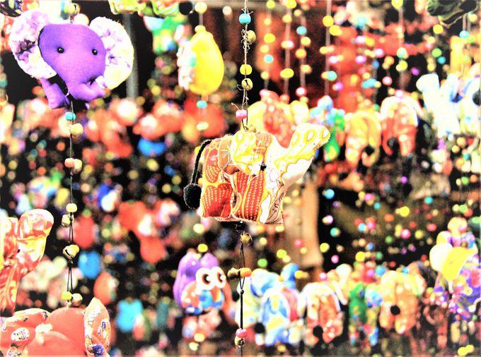 タイならではのカワイイ雑貨!ゾウの雑貨、お花の石けん、素敵なアクセサリー・服飾雑貨