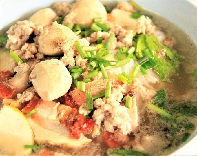 タイの名物麺料理