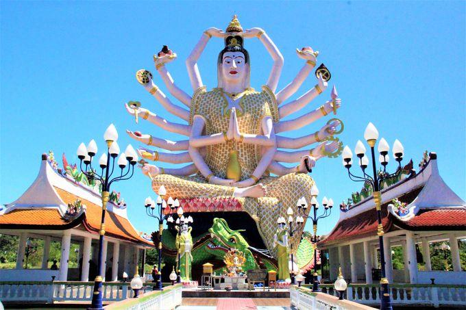 サムイ島観光旅行で、おすすめ寺院〜ビッグ・ブッダ、ワット・プライ・レーム、レム・ソー・パゴダ