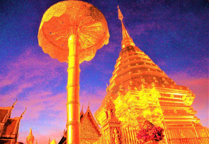 チェンマイの寺院〜ワット・プラ・タート・ドイ・ステープ、ワット・チェディ・ルアン、ワット・ウモーン
