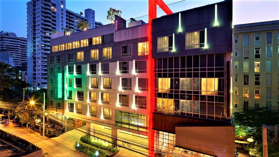 スクンビット地区の4つ星ホテル「フォーポイントバイシェラトン・バンコク スクンヴィット15」