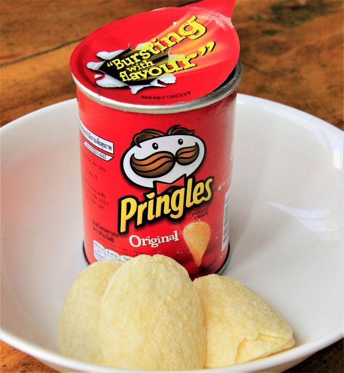 プリングルズ・レイズのタイ限定ポテトチップス、Koh-Kae(コーゲー)のスナック菓子