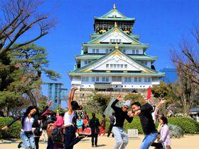 桜も梅も外国人もいっぱい!大阪観光スポット・大阪城の魅力とは?