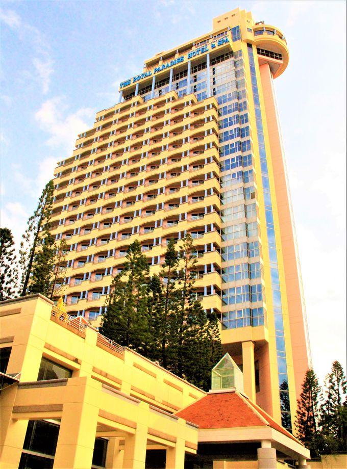 バングラ通りの高級ホテル「ミレニアム リゾート」「ノボテル ビンテージ」「ザ ロイヤル パラダイス」