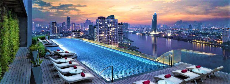 絶景プール&バー!「アヴァニ・リバーサイド・バンコクホテル」はバンコクおすすめの高級ホテル