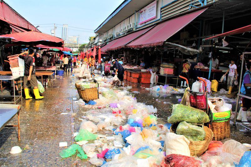 臭い!汚い!キケン!バンコク超穴場「クロントゥーイ市場」で超ディープなタイ観光