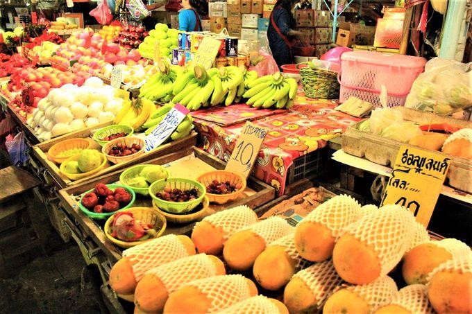 安い!新鮮!タイ人とのふれあいも楽しい!「クロントゥーイ市場」の魅力