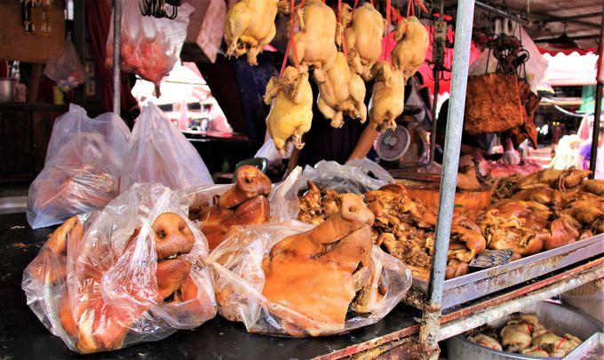 アジアの本当の台所を体験!バンコク超ディープスポット「クロントゥーイ市場」