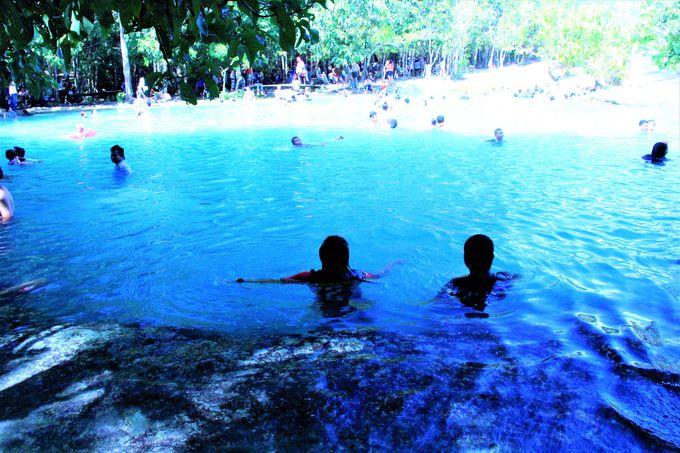クラビ観光のおすすめ!「エメラルドプール(Emerald Pool)」&ジャングル温泉
