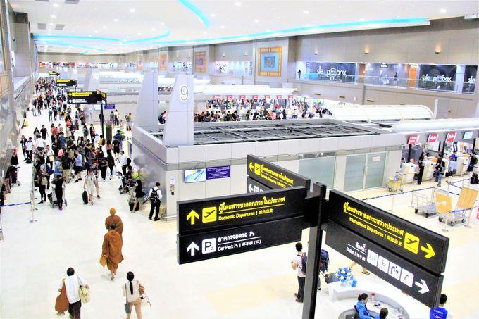 ドンムアン国際空港・国内線(第2ターミナル)がリニューアル!レストラン&カフェが充実!専用ラウンジも