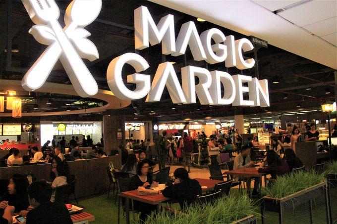 ドンムアン空港第2ターミナルはグルメエリア!「マジック・ガーデン」「エンリー・ユアーズ・デザート」も