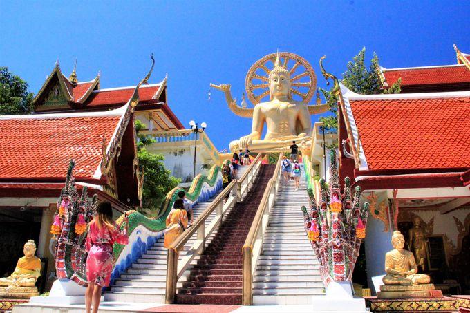 サムイ島の人気観光スポットにも簡単にアクセス!ビッグ・ブッダ(Big Buddha)/サムイ島の夕日