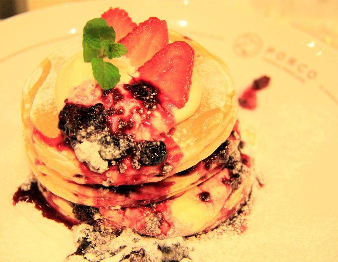 パンケーキ、スイーツがおいしい!「なんばパークス」の天空カフェ&レストラン「PORCO」(ポルコ)