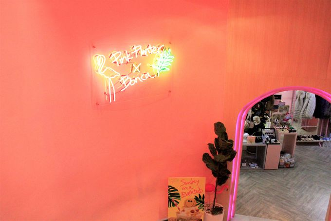 かわいいピンクのお店!ブティック「MatchBox」でタイのお土産も