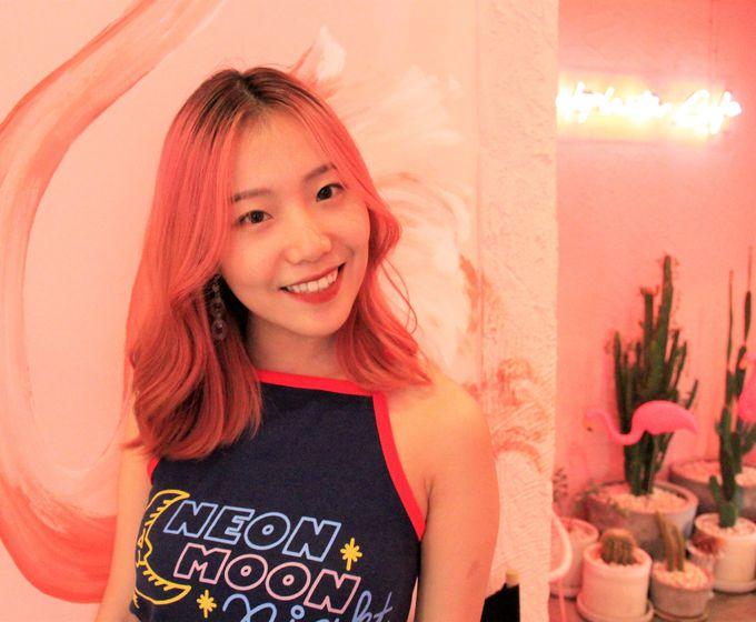 有村架純のように可愛い!マカロンを手にモデル気分!おしゃれなバンコク女子に人気「Bonca Ice」