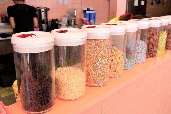 「Bonca Cookie Ice Cream」でのアイスの買い方、楽しみ方