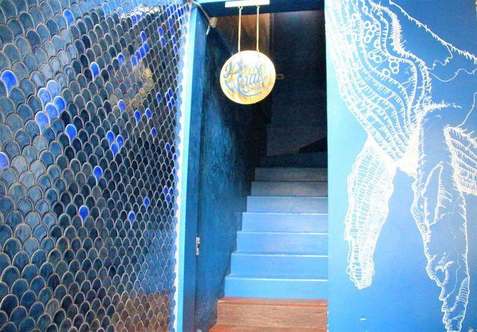 ブルーホエール・マハラート(Blue Whale Cafe)のフォトジェニックスポット