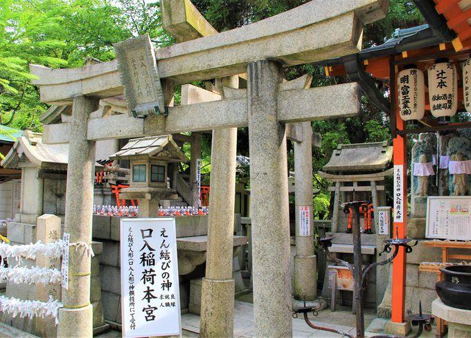 京都最強の良縁&縁結び、恋愛成就パワースポット!「口入稲荷神社」と「口入人形」