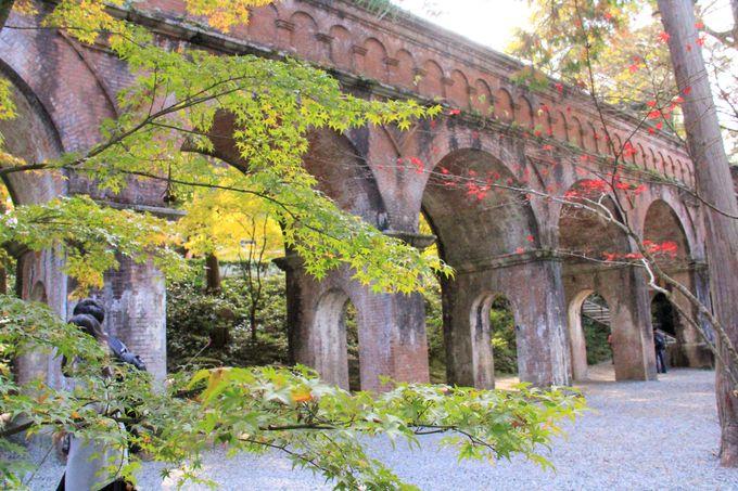 古代ローマの水道橋!サスペンスドラマの聖地「南禅寺水路閣」