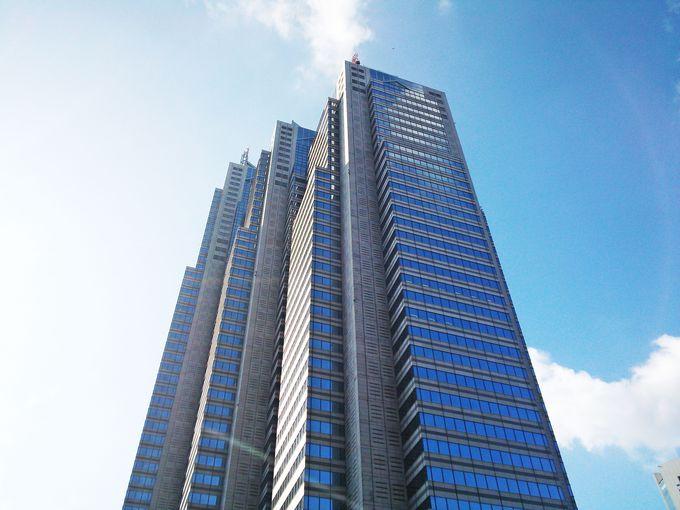 新宿副都心のランドマークビル