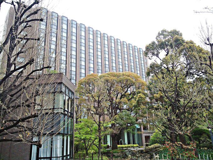 緑豊かな「大隈庭園」に佇むホテル