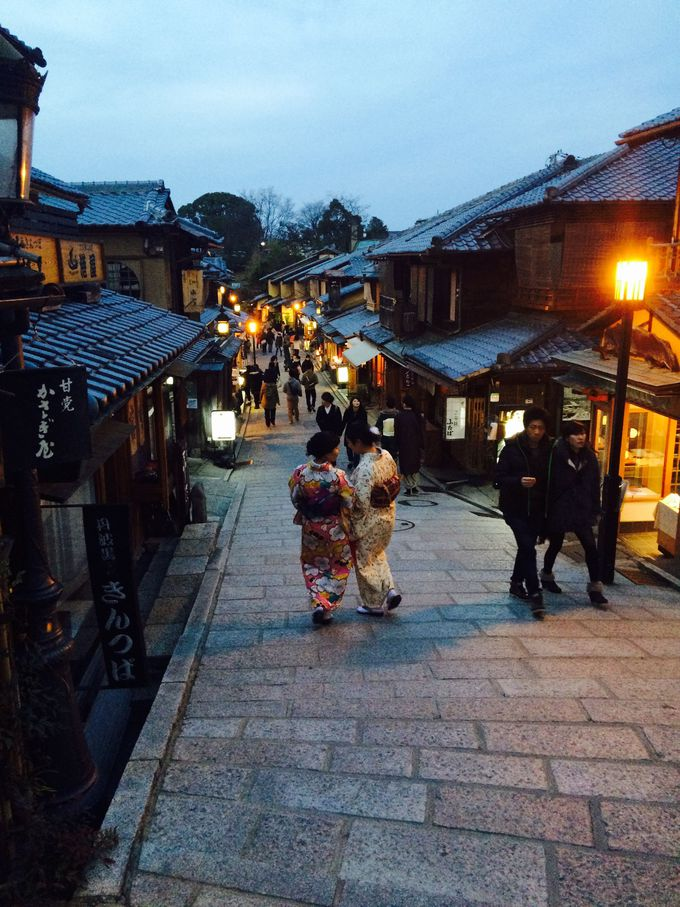 京都の有名どころ観光と共に…