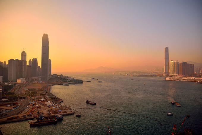 香港を一望!客室から素晴らしい景色が楽しめる