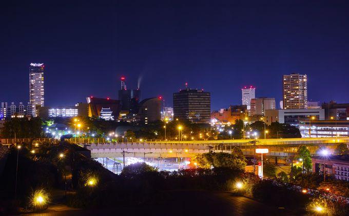 北九州一の繁華街!小倉の夜景