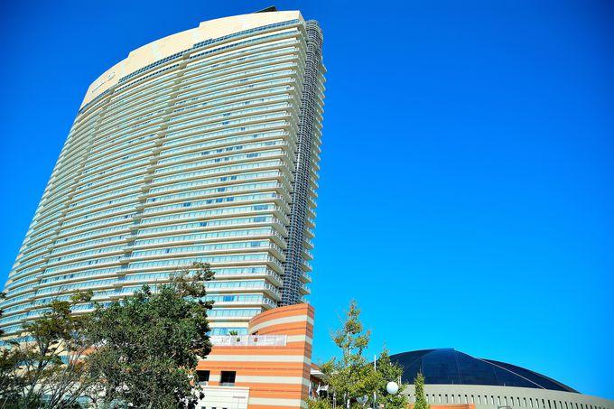 リゾート気分を満喫できる「ヒルトン福岡シーホーク」