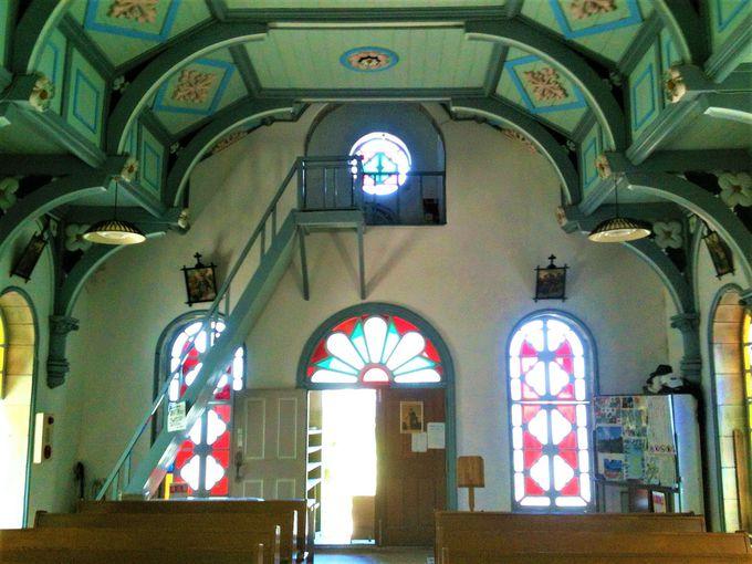 世界遺産候補の頭ヶ島天主堂は、珍しい石造の教会