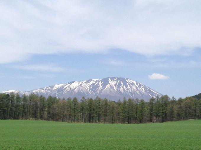 第2幕、雄大な岩手山がお出迎え