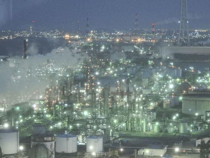 工場夜景萌えスポットの聖地「四日市」で絶景工場夜景巡り