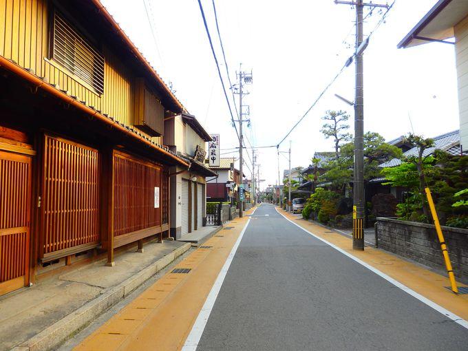 沿線には旧東海道の町並みや史跡も。