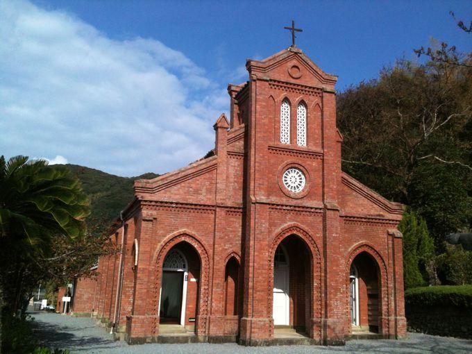 五島を代表する威風堂々とした教会、堂崎天主堂
