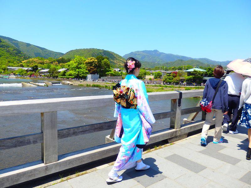 渡月橋を振り返らずに渡り終えよ!嵐山・法輪寺十三まいり