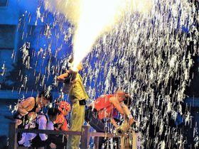 肉食女子必見?静岡・遠州新居手筒花火が火遊びすぎる|静岡県|トラベルjp<たびねす>