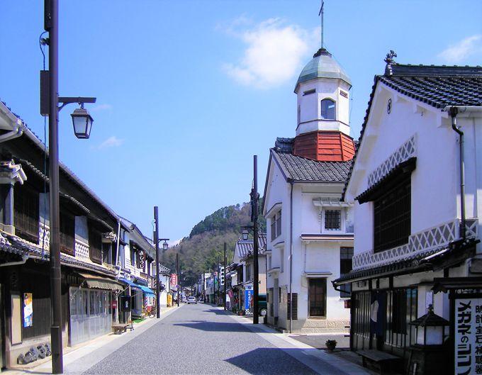 白壁のロマンあふれる広島「上下町」天領、そして分水嶺の町