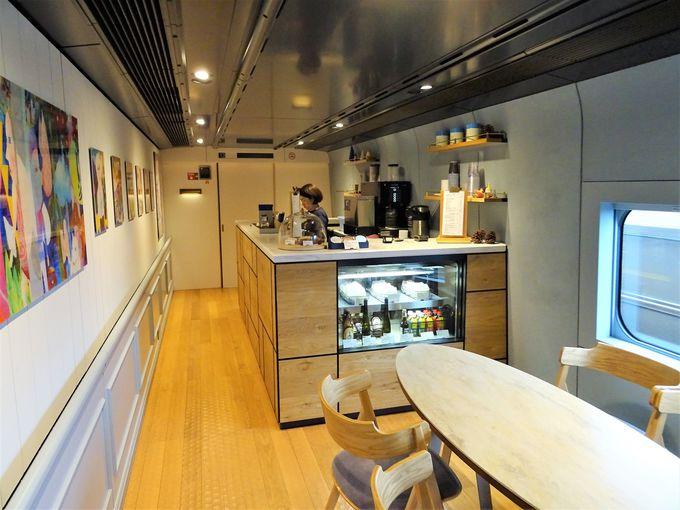 新潟の味が楽しめる現美新幹線のカフェ