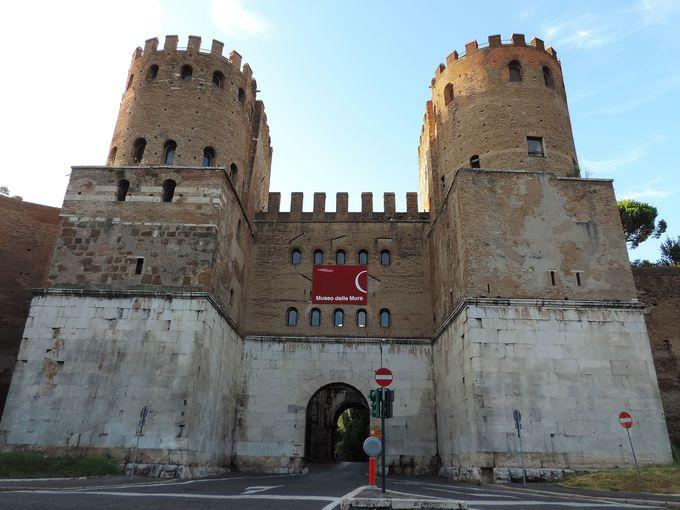 ちょっと変わった博物館、城壁の中を歩ける『城壁博物館』!