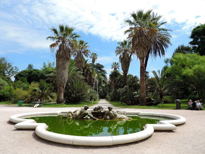 ローマ中心部の気軽に立ち寄れる緑のオアシス
