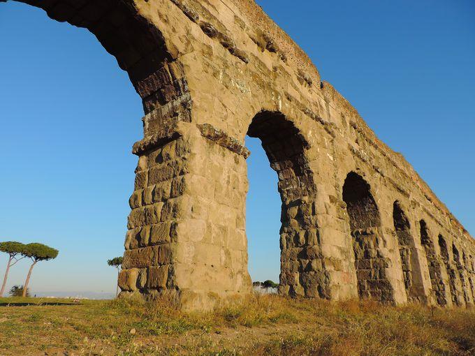 建設は2300年前!ローマ人の叡智の結晶、ローマ水道