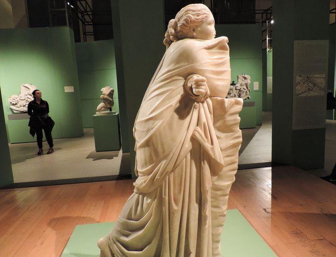 美術館のシンボルアイコン−ミューズ